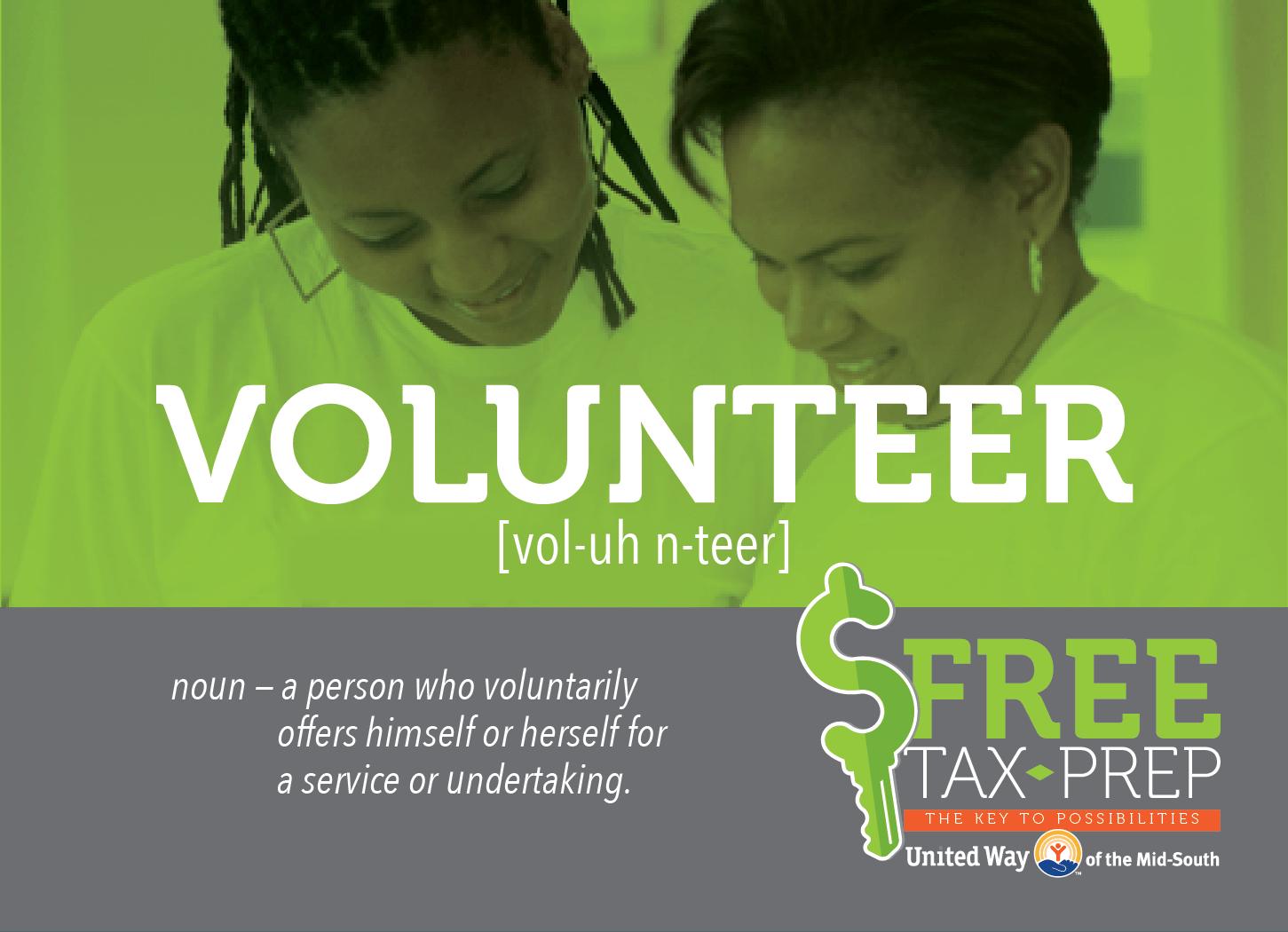 United Way's Free Tax Prep Program; Seeks Volunteers for Launch
